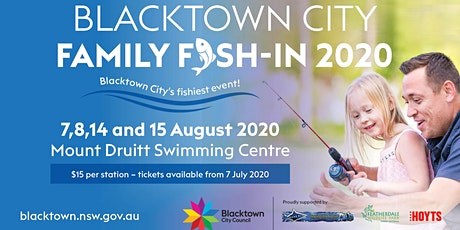 2020 Family Fish In- Saturday 15  August 6:20pm tickets