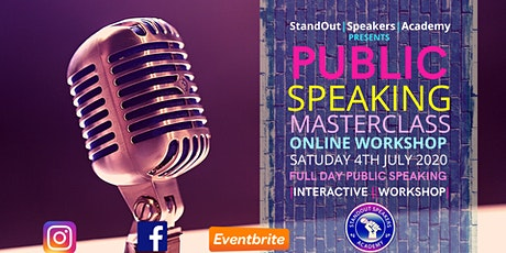 Public Speaking Masterclass - StandOut Speakers Academy tickets