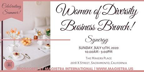 The 2020 Women of Diversity Business Brunch - Sacramento! tickets