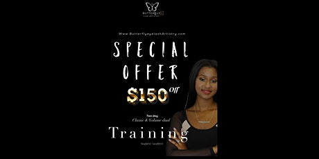 Houston EyeLash extension training tickets