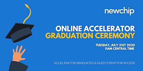 Newchip Accelerator Online Graduation Ceremony tickets