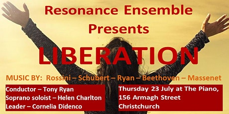 """Resonance presents """"Liberation"""" - A programme of g tickets"""