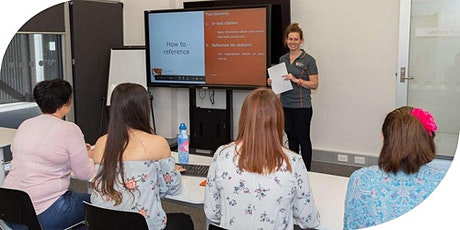 Academic Skills Workshop: Referencing tickets