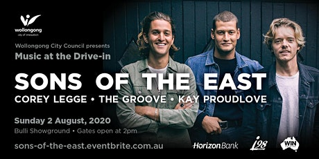 Music at the Drive-in: Sons of the East tickets
