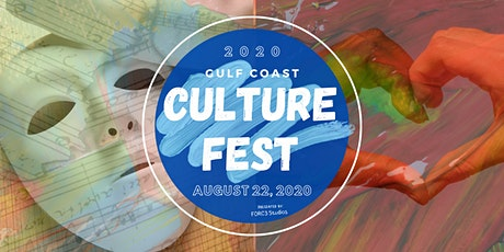 Vendors for Gulf Coast Culture Fest: August 22, 2020 tickets