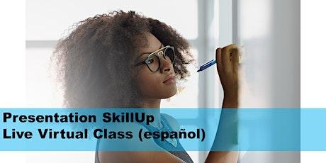 Presentation SkillUp- Live Virtual Class (español) entradas