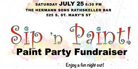 Paint 'n Sip Fundraiser tickets