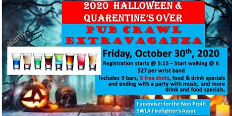 Quarentine's Over - Let's Get Drunk Pub Crawl Extravaganza tickets