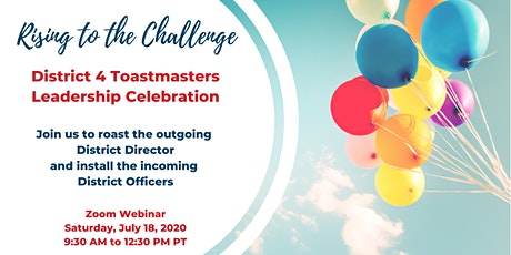 District 4 Leadership Celebration 2020 tickets