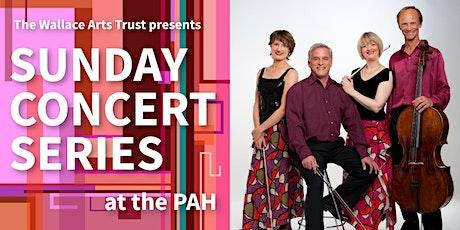 Sunday Concert Series: New Zealand String Quartet tickets