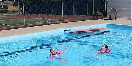 Baignade public/Public swim - Piscine de Plantagenet/Plantagenet's Pool billets