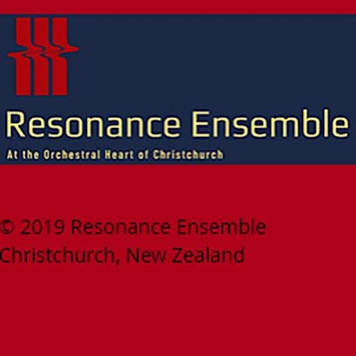 Resonance Ensemble, Christchurch logo