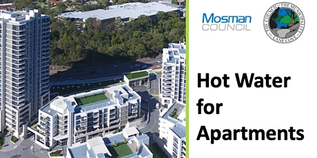 Live Webinar-Efficient Hot Water Systems in Apartment Blocks tickets