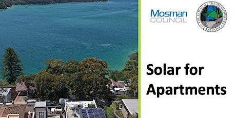Live Webinar-Solar for Apartment Buildings tickets