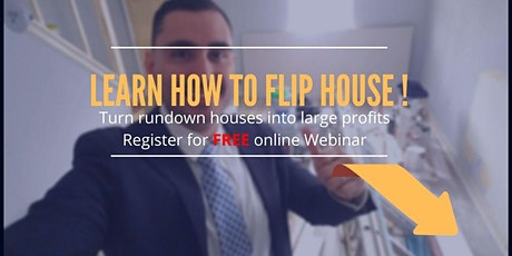 Virginia - Learn To Flip Houses for Large Profits with LOCAL team tickets
