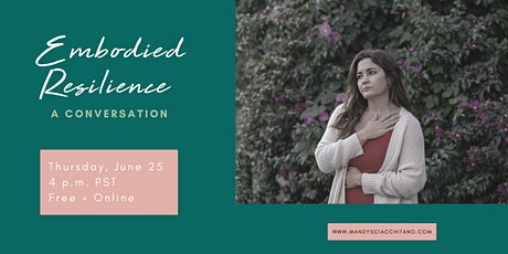 Embodied Resilience: A Conversation tickets