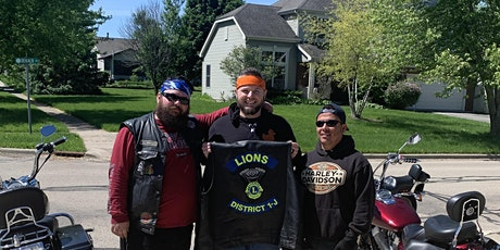 District 1-J Motorcycle Lions Club Community Ride tickets
