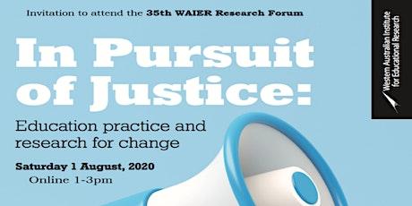 2020 WAIER Online Research Forum tickets