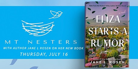 MT Nesters Book Club- Eliza Starts a Rumor with Author Jane Rosen tickets