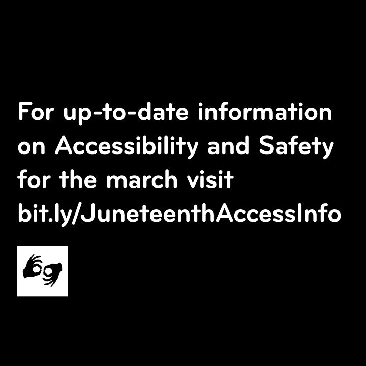 Juneteenth March on NYC image
