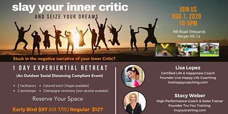 Slay Your Inner Critic Workshop  (A Social Distancing  Compliant Event) tickets