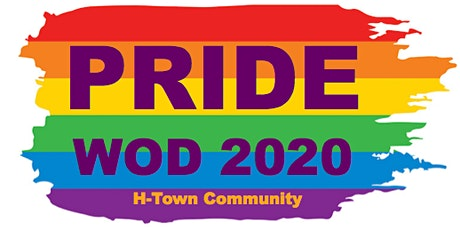 PRIDE WOD 2020 - CROSSFIT HTOWN tickets