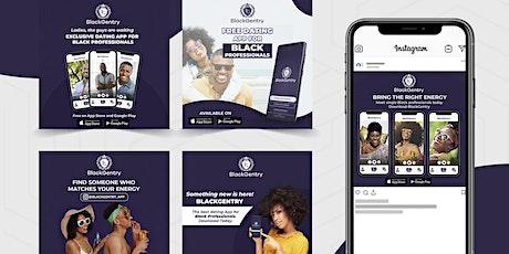BlackGentry Dating App Join Event - Meet Black Singles tickets