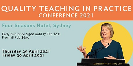 Quality Teaching in Practice 2021 tickets