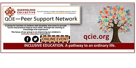 QCIE Online Peer Support Sessions tickets