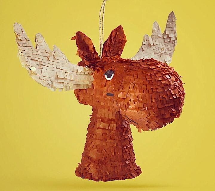 Introduction to Piñata Making: MainStreetCarFreeDay Online Workshop image