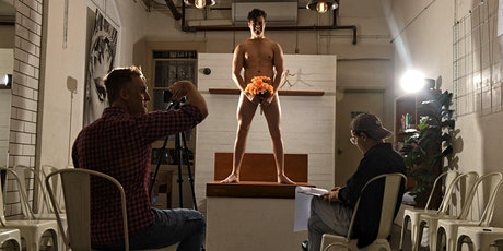 Online Male Model Life Drawing Class tickets