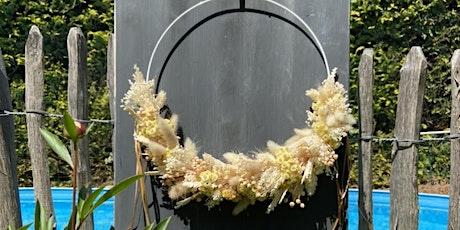 Dried Flower Hoop Tickets
