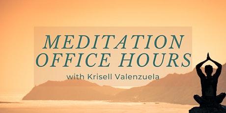 Virtual Meditation Office Hours tickets
