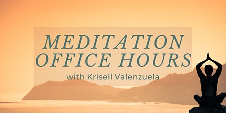 Virtual Meditation Office Hours tickets