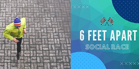6 Feet Apart Social Race tickets