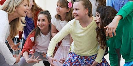 Kids Winter School Holiday Event: Improv Theatre Workshop - LIVE ONLINE tickets
