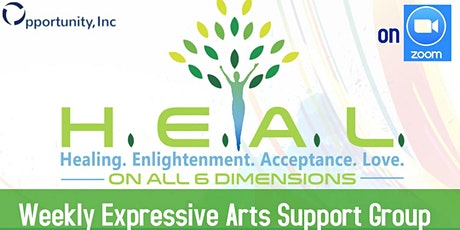 HEAL Expressive Arts Support Group tickets