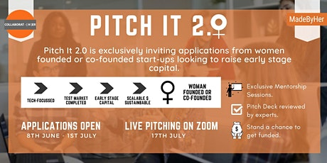 Pitch It 2.0 tickets