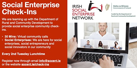 Lunchtime Check-Ins Social Enterprise tickets
