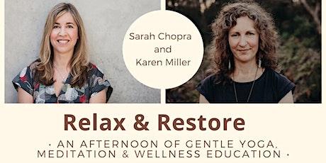 Relax & Restore Mini Retreat tickets