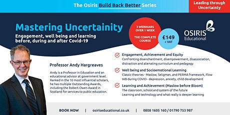 Mastering Uncertainty with Professor Andy Hargreaves tickets