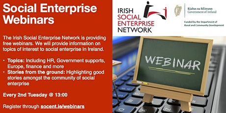 Lunchtime Webinars Social Enterprise tickets