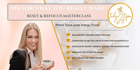 Inspirational 2 Hour  Online Vision Board Masterclass tickets