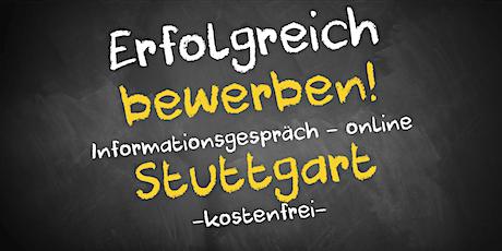 Bewerbungscoaching Online kostenfrei - Infos - AVGS  Stuttgart Tickets