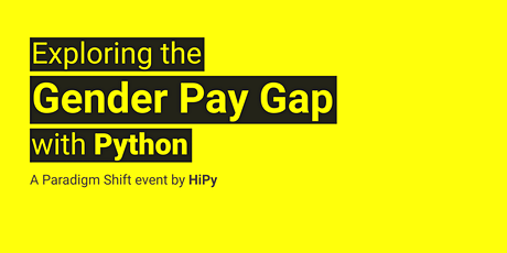 Exploring the Gender Pay Gap with Python tickets