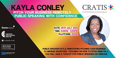 Pitch Your Business Remotely – Speaking With Confidence tickets
