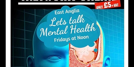 """""""Let's talk mental health"""" Online Business Networking Meeting tickets"""