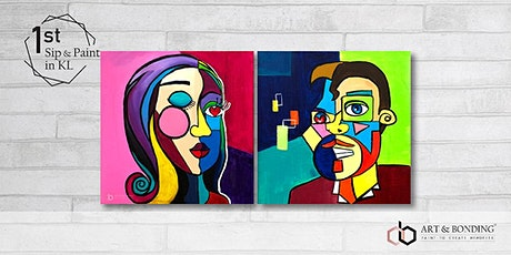 Sip & Paint Date Night : Paint Your Mate by Pablo Picasso tickets