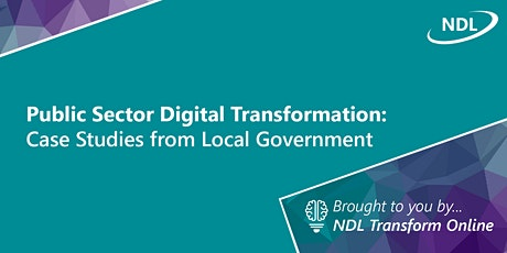 Public Sector Digital Transformation: Case Studies from LG (July) tickets