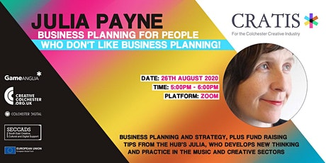 Business Planning for People Who Don't Like Business Planning tickets